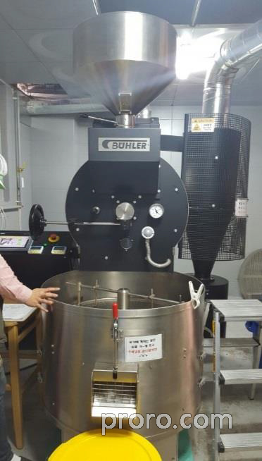 BUHLER 布勒咖啡烘焙机 后燃机 安装案例 - Coffee House 咖啡烘焙厂