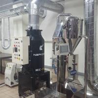 coffee_shinhwa 咖啡烘焙工厂 安装 NKIC-15K(15公斤) 除烟消味 后燃机 安装案例