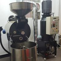 YCSON 咖啡烘焙工厂 安装 NKIC-15K(15公斤) 除烟消味 后燃机 安装案例