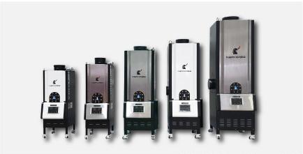 从打样机装用的mini型,到120公斤级有所有产品系列