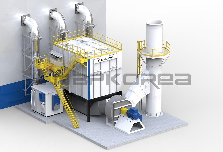 工业废气处理,化工废气处理,常温废气处理,大风量废气处理,中低浓度废气处理,易挥发性有机废气处理