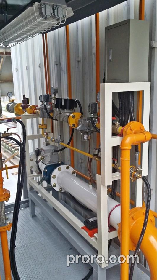 钢材预处理 大韩造船(株)投入运行了,RTO催化氧化系统。