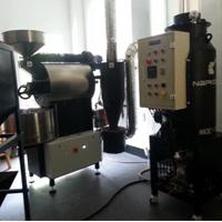 Cuchasa Coffee Roasters 安装 NKIC-15K(15公斤) 消烟消味后燃机 安装案例
