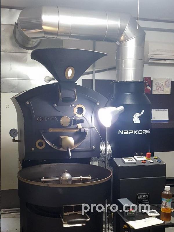 GIESEN 吉森咖啡烘焙机 除烟除味 后燃机 安装案例 - CAFE MAVEN ROASTERS 咖啡店