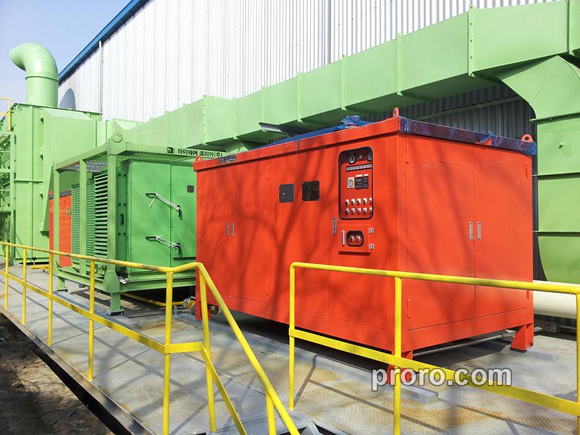 High Aer 空调(株)直接式燃气加热器 400,000Kcal / h 工程案例