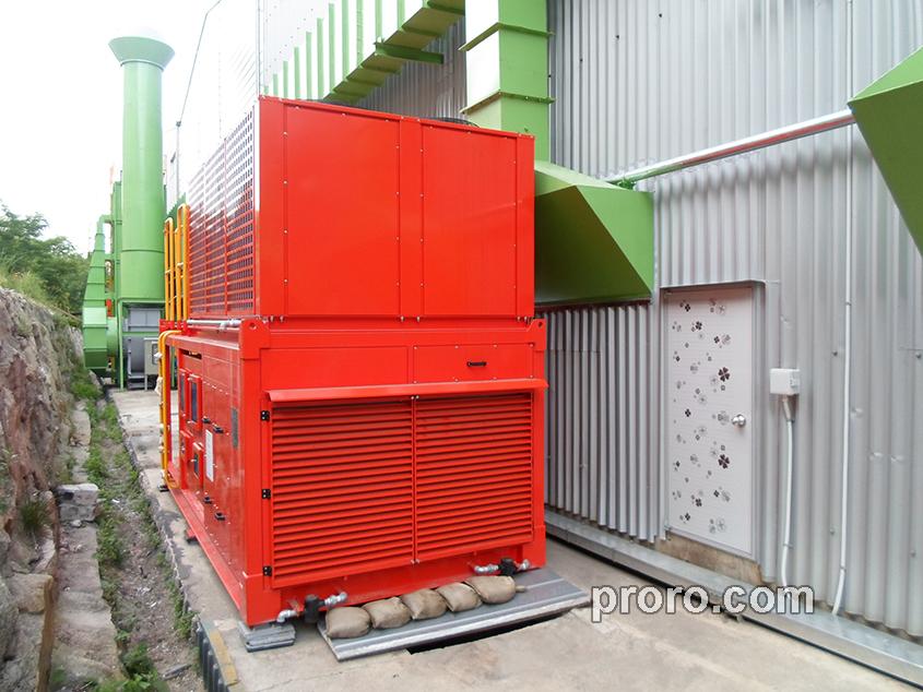 庆州喷漆(株)混合式除湿机 400,000Kcal/h 工程案例