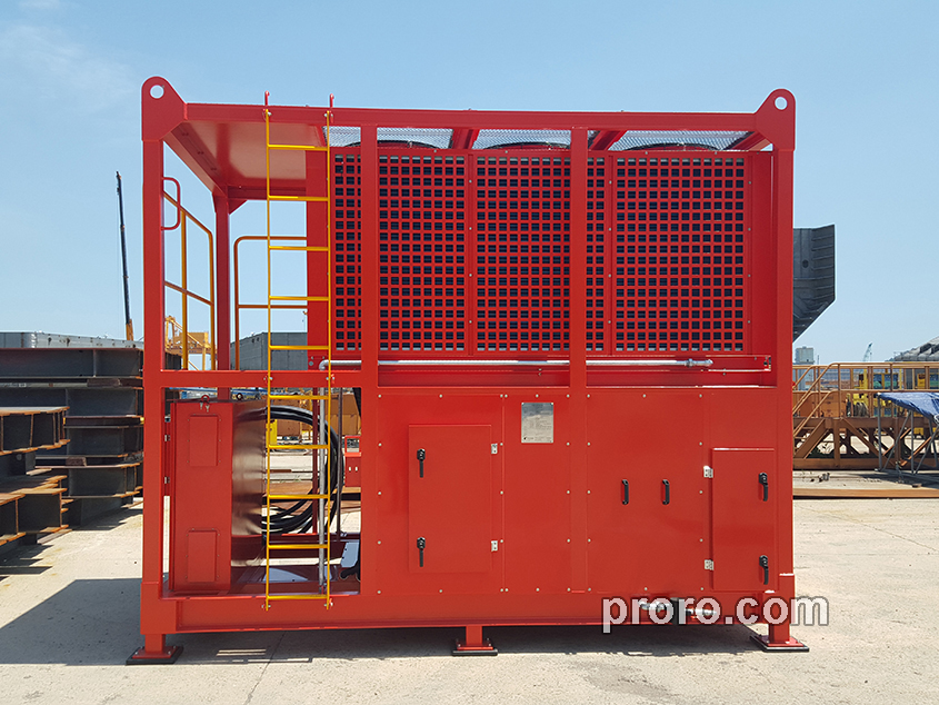 Orient Marine(株)冷却除湿机 168,000Kcal/h 工程案例